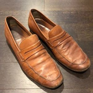 Cole Haan Brown Leather Loafers